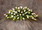 Bouquet Blanco Nuevo Tanatorio - Funeraria Blay